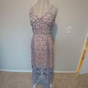 Anthropologie Elliatt Tingle Crochet Lace Dress~ M